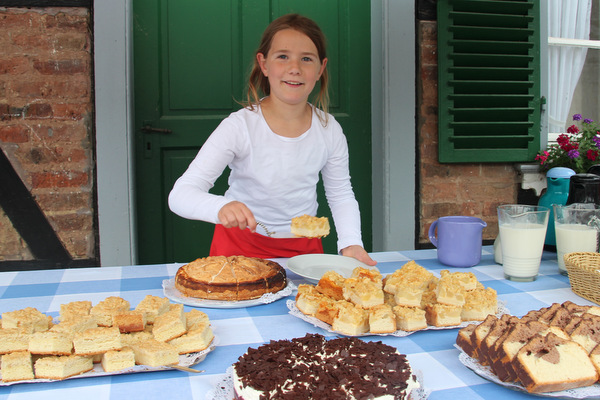 Auf Wunsch selbst gebackene Kuchen