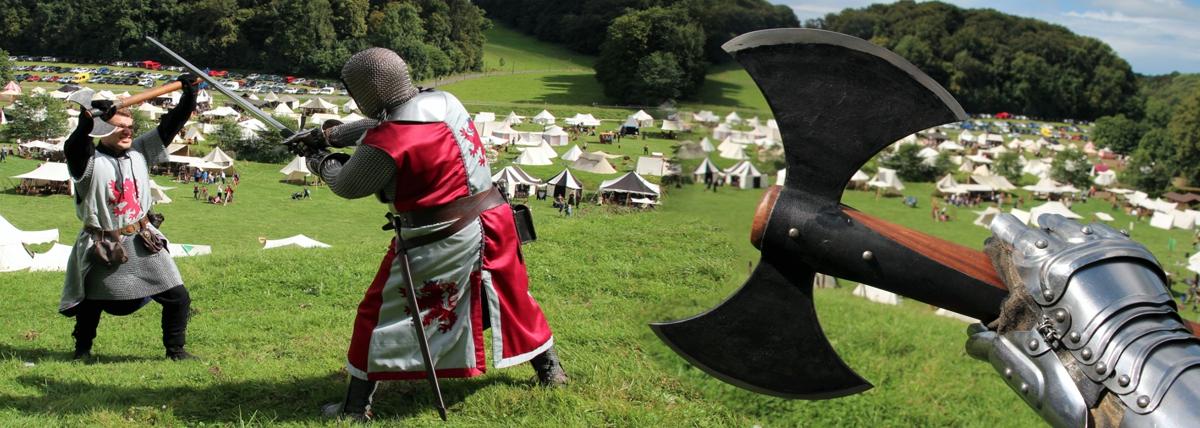 Tauchen Sie ein in die Zeit der Ritter & Gaukler: Ritterfest am 17. und 18. August 2019